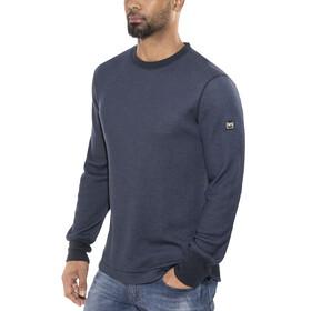 super.natural M's Comfort Waffle LS Shirt Navy Blazer